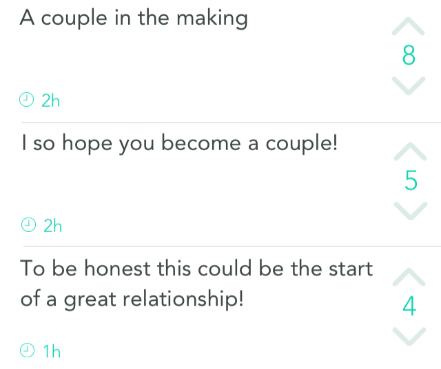 The people want a couple